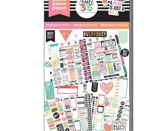Create 365 the happy planner-Value Pack Stickers - Productivity- 985 pcs