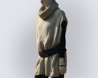 Knit Poncho-Wool Poncho-Knitted Poncho-Chunky Poncho-Hand Knit Poncho-Winter Wool Poncho-Womens Wool Poncho-Chunky Knit Poncho