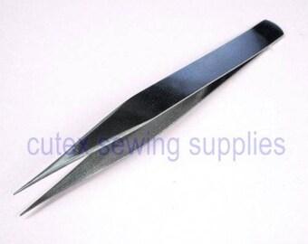 """4-7/8"""" Stainless Steel Sharp Point Straight Tweezer"""