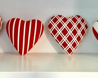 Ceramic Square Heart