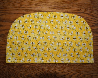 Small Tea Cozy Cover: Bees and Honey (To be used with my SMALL Tea Cozy)