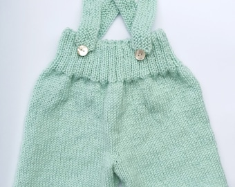 Unisex Color Knitted Jumpsuit