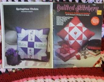 Quilted Stitchery - Designs for Quilting Cross Stitch and Applique