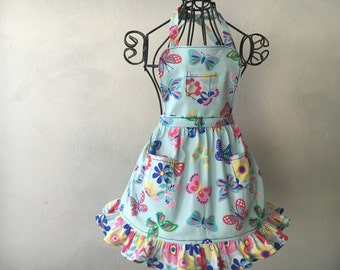GIRL'S BUTTERFLY APRON