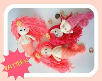 Amigurumi Mermaid Doll Pattern