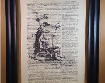 The Great Auk Dictionary Print