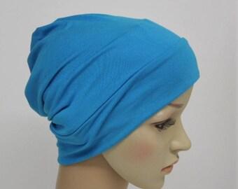 Women beanie, summer hat, viscose jersey beanie hat for women, bad hair day hat, lightweight beanie hat