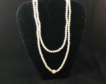 Vintage 6mm Costume Pearls