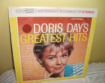 Doris Day's Greatest Hits Vinyl Record Album NEAR MINT condition