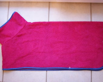Personalized robe toweling for medium size dog (labrador/golden type)