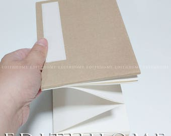 Chinese Rice Paper Folding Booklet Calligraphy Book