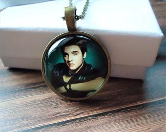 Elvis Presley Bronze Necklace or Key-chain   The King of Rock and Roll, Singer, Tennessee, Graceland, Elvis Gift, Elvis Souvenir