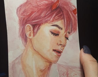 NCT Taeyong Fanart (X Darling in the FranXX)