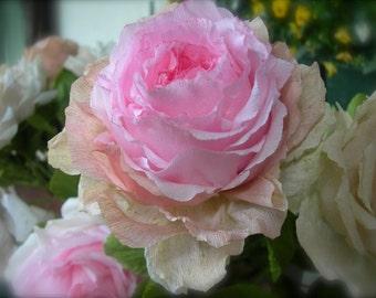 Light Pink Paper Roses