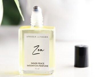ZEN   Dragon's Blood Perfume Oil   Meditation and Yoga Oil