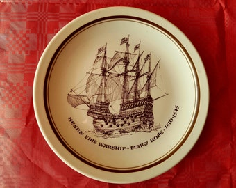 Mary Rose Plate
