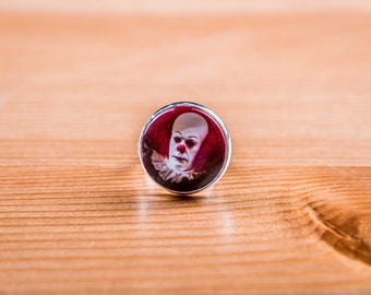 Ring it / clown / came / Horror / Ring Cabochon / horror / Stephen king