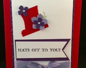 Hats Off To You for the Red Hat Ladies in your life