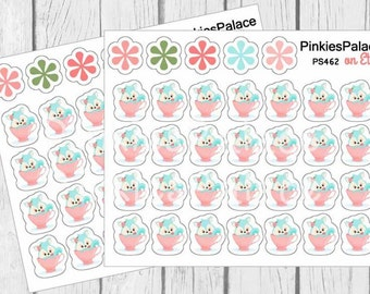 Cat in a Cup Stickers Planner Stickers PS462