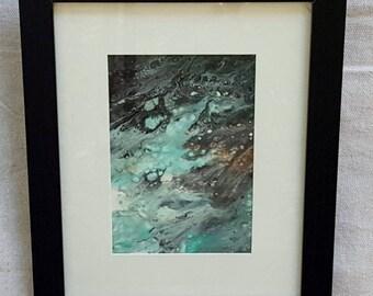 Acrylic Abstract 5x7