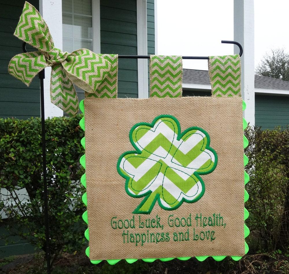 Garden Flag Custom St Patricks Irish Blessing