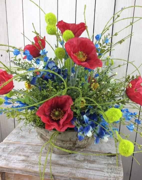 Flores silvestres de Texas arreglo de verano 4 de julio
