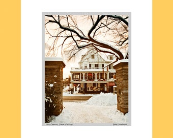 The Corner in downtown State College, PA, across from Penn State - Hand Signed and Titled (11x14 matted photograph)