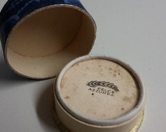 Cipria felce azzurra large, mid-1900, old powder makeup, powder, makeup