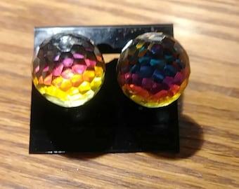 Fire Ball Earrings