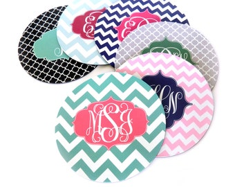 Monogram Mousepad • Monogrammed Mouse Pad • Office • Desk • Gift [DYO]