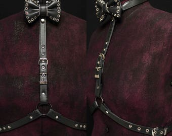 Buckle Bow Tie Harness