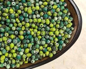 Petite Paper Beads - 1/2 lb bag