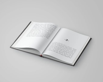 FATHOM Book Interior Design Template - 36+ Pages - 5 Chapter Design Options - Fonts Included