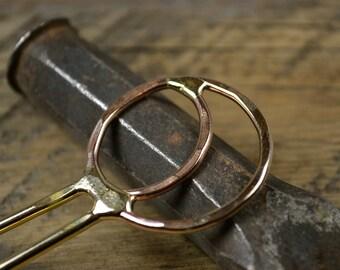 Handmade Brass Hair Stick