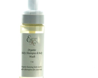 Organic Baby Shampoo & Body Wash