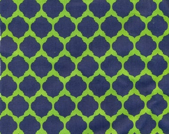 Fabric Covered Binder - Navy Green