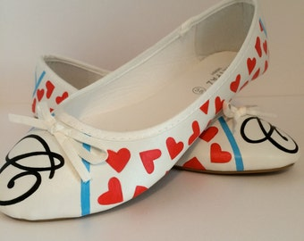 Hand painted custom flats