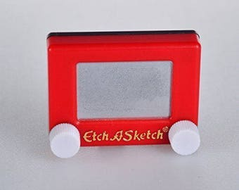 Tiny  Etch-A-Sketch in Original Packaging Retro Toys