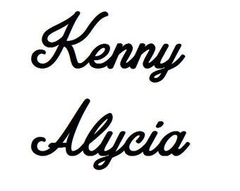 Name Kenny Alycia
