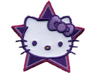 Hello Kitty Star badge