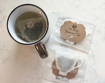 Tea Cup shaped Tea Bag (No Tea Tag)