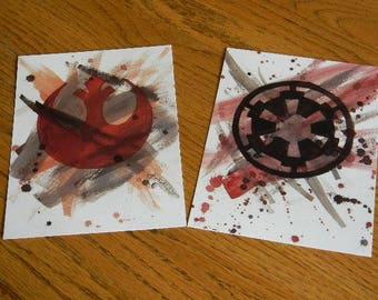 STAR WARS Themed Art Prints