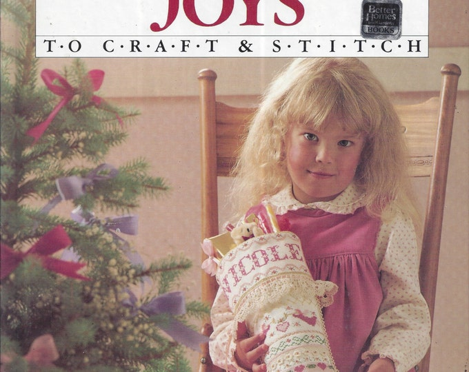 Better Homes and Gardens: Christmas Joys To Craft and Stitch (Hardcover)