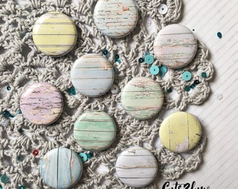 "3 buttons 1 ""pastel Texture Bundle"