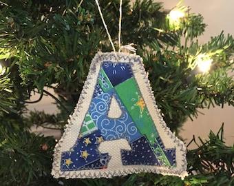 Letter Christmas Ornament