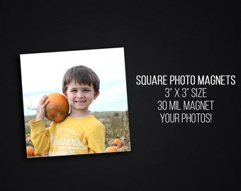 Square Photo Magnets - Your Photos - Instagram Custom Magnet