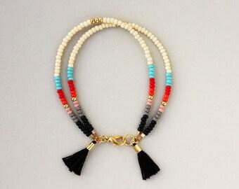 Seed Bead Bracelet, Bead Bracelet, Bracelet for Women, Friendship Bracelet, Girlfriend Gift, Boho Jewelry, Southwestern Jewelry, Bracelet