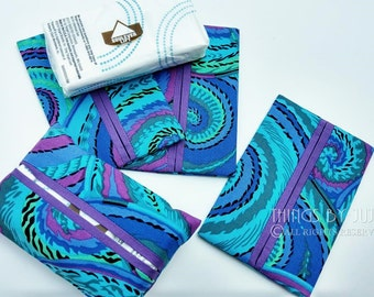 Purple Tissue Holder Teacher Gift Stocking Stuffer Get Well Gift Purse Organizer Tissue Cover Kleenex Holder Coworker Gift Party Favor