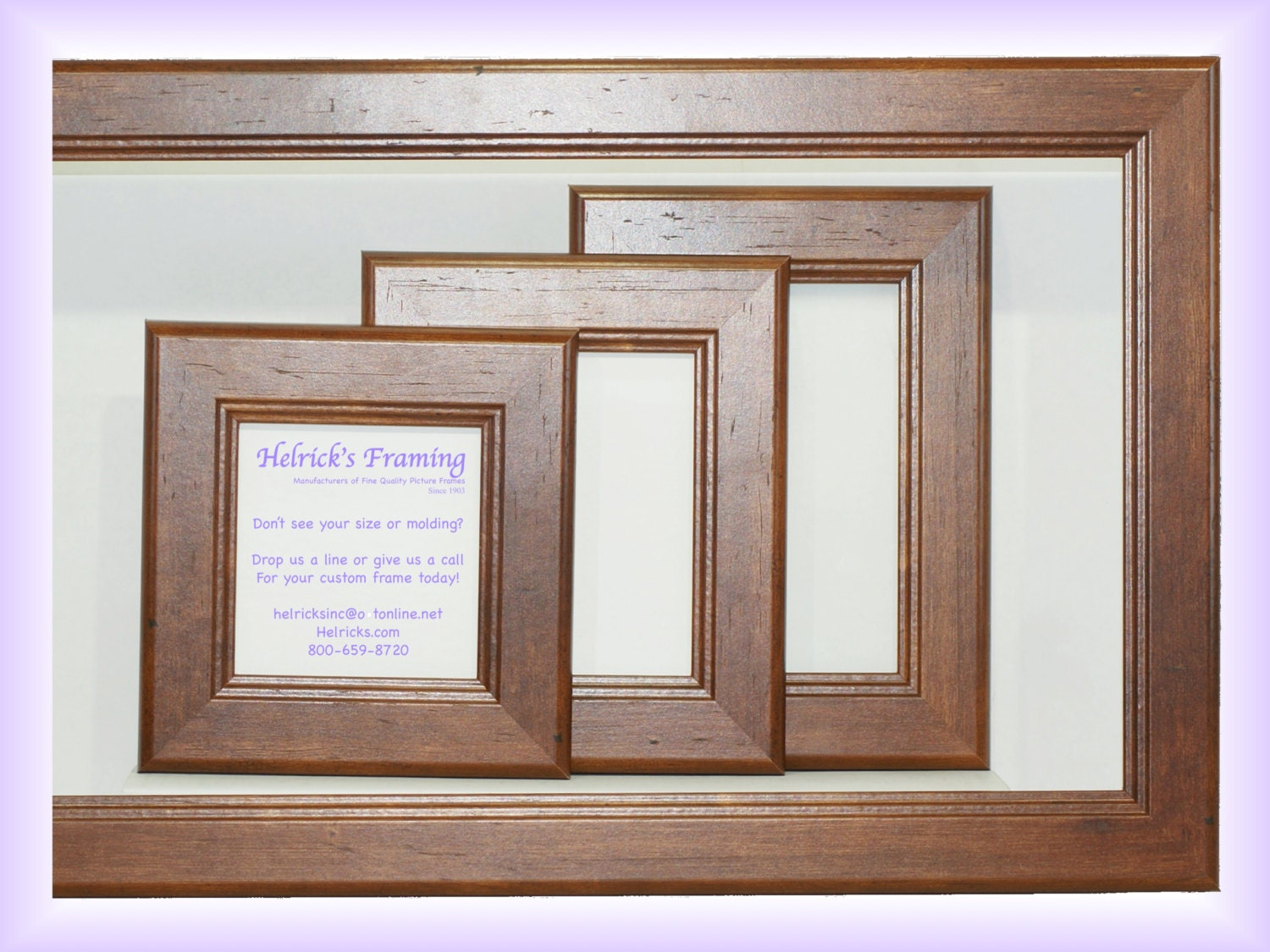 Walnut picture frames 4x4 20x30 for home business school zoom jeuxipadfo Choice Image