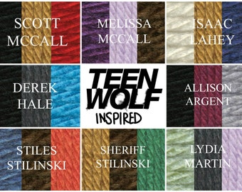 Teen Wolf Inspired Infinity Scarves